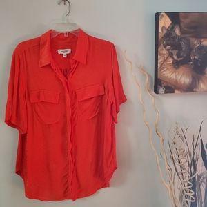 Anthropologie Porridge clothing blouse. XL NWOT